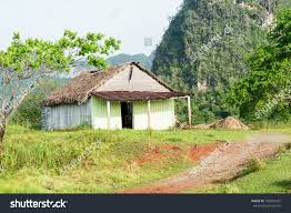 Rustic House Rural Scene Rustic House Known Bohio Stock Photo 188592437