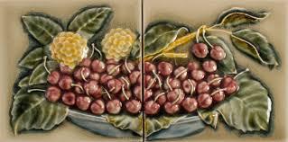 fv cherry plate 6x12 2 tiles pratt u0026 larson