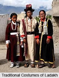 ladakh clothing costumes of ladakh 1 jpg