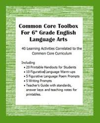 7th grade language arts common core standards posters did these