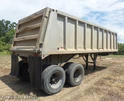 1977 mate end dump trailer item k7522 sold september 7