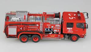 tonka fire truck toy hobbyeasy chemical fire fighting pump car osaka municipal fire