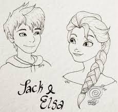 jack and elsa by shelleebee13 on deviantart