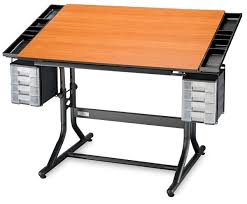 Blick Drafting Table Alvin Craftmaster Ii Deluxe Hobby And Drawing Station Blick Art
