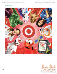black friday target toys target toy book 2015living rich with coupons