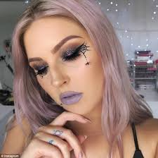 femail rounds up easy halloween eye make up looks daily mail online