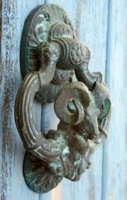 door knocker bronze aries ram my door knockers on etsy