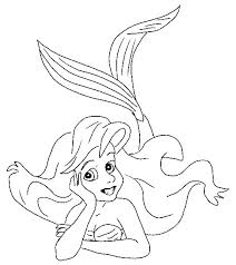 mermaid coloring pages2 coloring kids