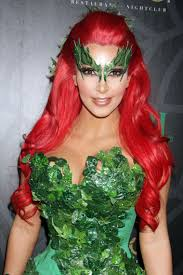 Poison Ivy Halloween Costume Poison Ivy Makeup Eye Decoration Costumes Dress