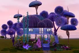 Weird House Mod The Sims Light Fantastic Treehouse No Cc Starter Less