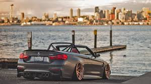 bmw m4 stanced dub magazine bmw m4 on avant garde wheels