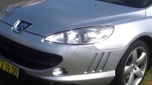 peugeot 407 coupe interior peugeot 407 hdi luxury coupe v6 twin turbo diesel youtube