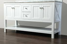 Cottage Style Vanity Beadboard Bathroom White Vanity Cottage Style In Vanities