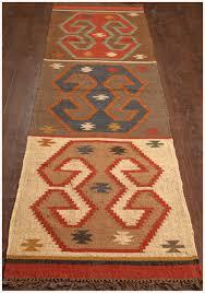 Jute Runner Rug Rugsville Handmade Southwestern Flatweave Wool Jute Runner Rug 79
