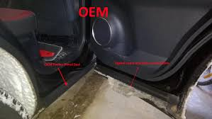 lexus is350 f sport in snow poor door seal in nx causing snow to creep in between door and