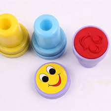 wine emoji 10pcs emoji smile silly face stamps set stationery for kids gift