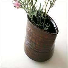 Modern Flower Vase Arrangements Hakusan Rakuten Global Market Vase Earthenware Flower Base Seto
