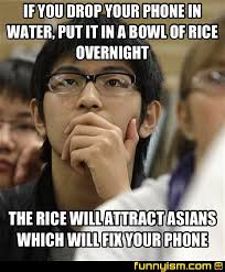 Drop Phone Meme - if you drop your phone in water put it in a bowl of rice