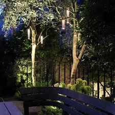starliter led tubular pendant garden exterior cullen