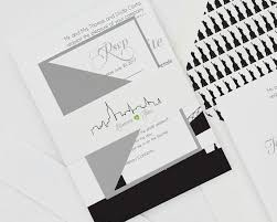 modern wedding invitations modern wedding invitation new york wedding