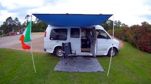 Small Campervan Awnings Diy Van Awning For Under 50 Check It Out Youtube