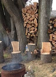 Stump Chair Winsome Tree Stump Chair Remarkable Ideas 1000 Images About Tree