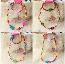 wood beads necklace designs images Children jewelry mixed design cute wood beads necklace amp jpg