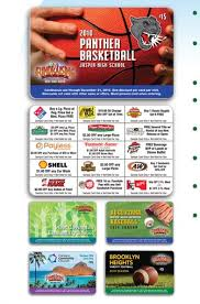 gift card fundraiser discount card fundraiser 93 profit the abc fundraising card