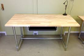 adjustable height sitting and standing desk simplified building