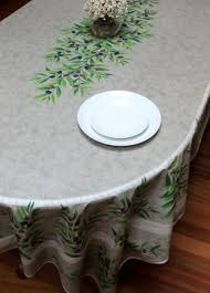 tablecloth for oval dining table french cotton and coated tablecloths from provence
