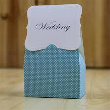 bonbonni re mariage 100 pcs casamento romantique boîte de bonbons de mariage bleu