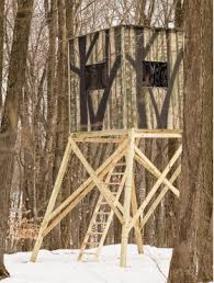 Tree Trunk Hunting Blind Hunting Blinds The Penthouse Products Yoder Woodcrafters