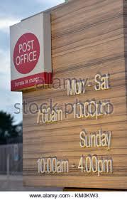 heure ouverture bureau de poste heures d ouverture du bureau de poste banque d images photo stock