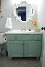 Raising Bathroom Vanity Height Lively Green Door Tear Down Rebuild Adding Legs To The