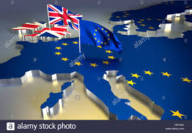 Europe Flag Map by Map Of Europe With The National Flag Brexit Referendum Uk