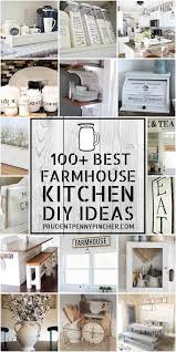 how to decorate a rustic kitchen 100 diy farmhouse kitchen decor ideas prudent pincher