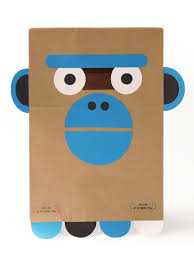 Gorilla Halloween Costumes Wearing Paper Bag Looked Cool Handmade Charlotte
