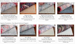 Types Of Rugs Decorating Cents Rug Pad Giveaway