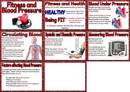 free ks3 ks4 science teaching resource blood pressure and