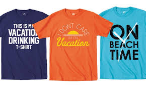 s vacation t shirts groupon goods