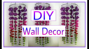 Home Decoration Ideas For Diwali Diy Crafts How To Make Beautiful Wall Hanging Diy Diwali Home