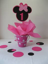 Centerpieces For Minnie Mouse Party by Minnie Mouse Centerpiece By Missdaisyw On Etsy 1st Birthday