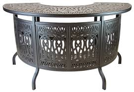 Patio Furniture Bar Sets - elizabeth cast aluminum powder coated 5pc party bar set with party