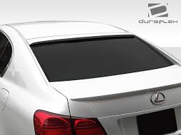 lexus is spoiler wing overdosed performance odparts ca