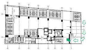 basement plan basement plan level 0 minos tower