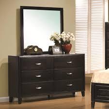 Dark Brown Changing Table by Nacey Dresser Mirror Dox Furniture
