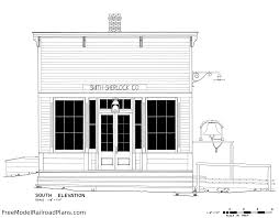 Railroad House Plans Smith Sherlock General Store Has Old West Charm U2013 Free Model