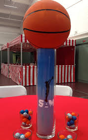 basketball centerpieces 75 best zachary s bar mitvah images on basketball bar