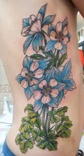 columbine flower tattoo google search tattoo ideas pinterest