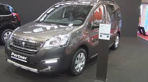 Peugeot Partner New Tepee Outdoor 1 6 Bluehdi 100 Bvm5 E6 2016